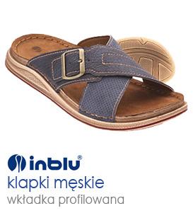 1faf253ea33a5 INBLU Sklep obuwie męskie klapki Inblu